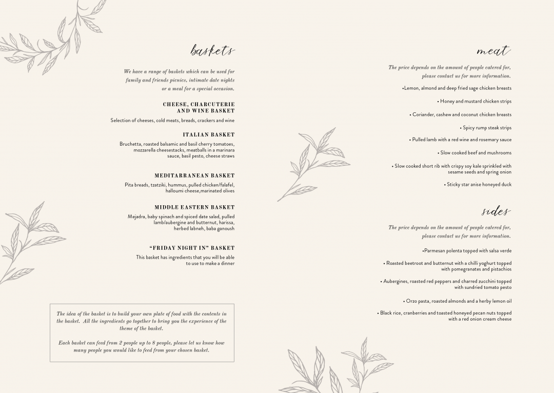 catering menu5